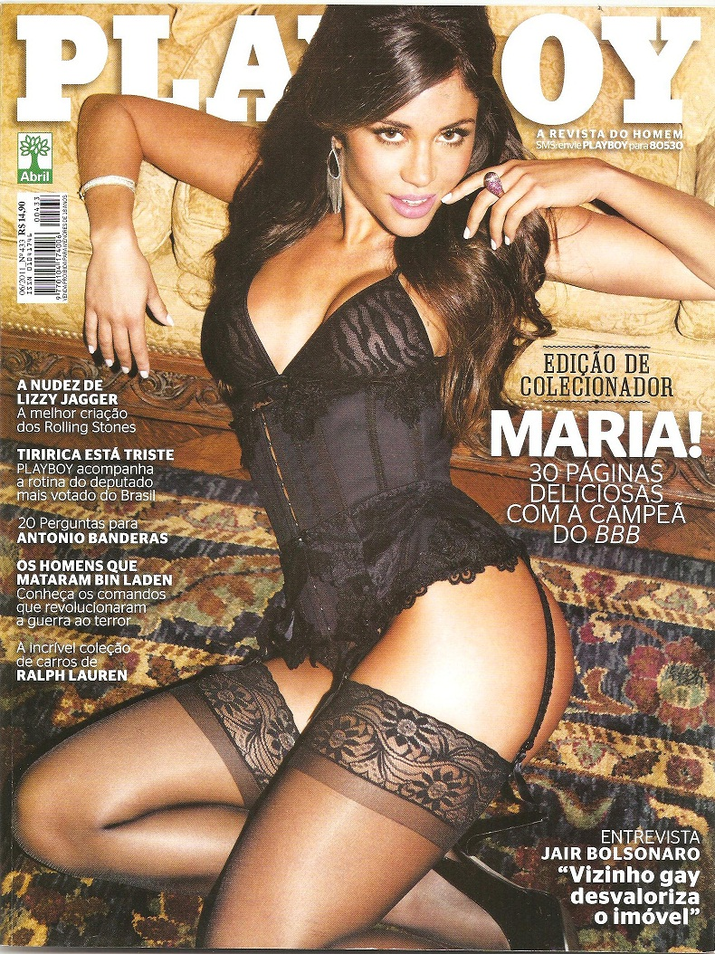 Revista Playboy Maria Bbb Junho