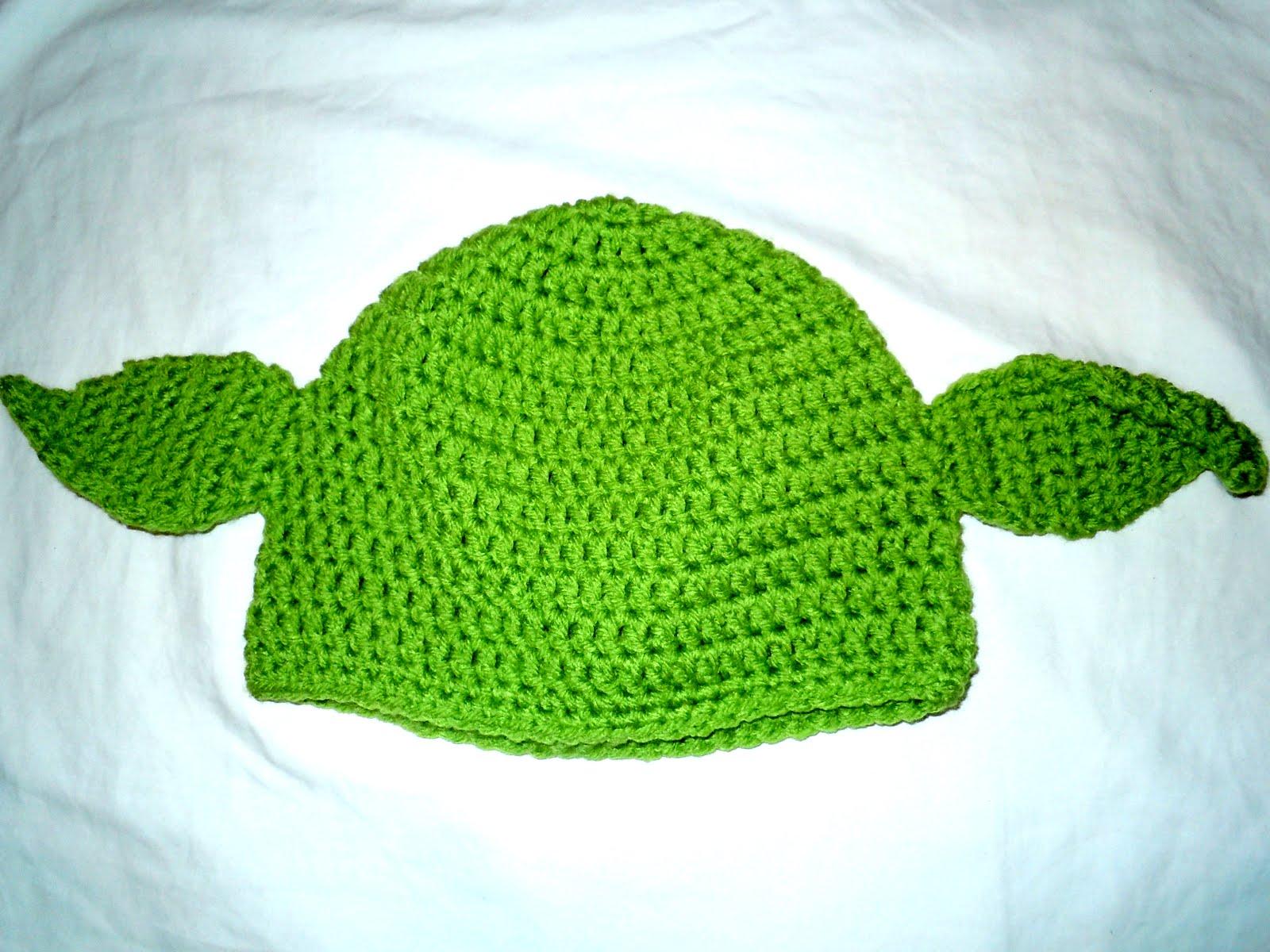 Luv Boopa: Yoda Crochet Hat