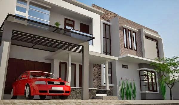 model rumah minimalis Modern 2014 5