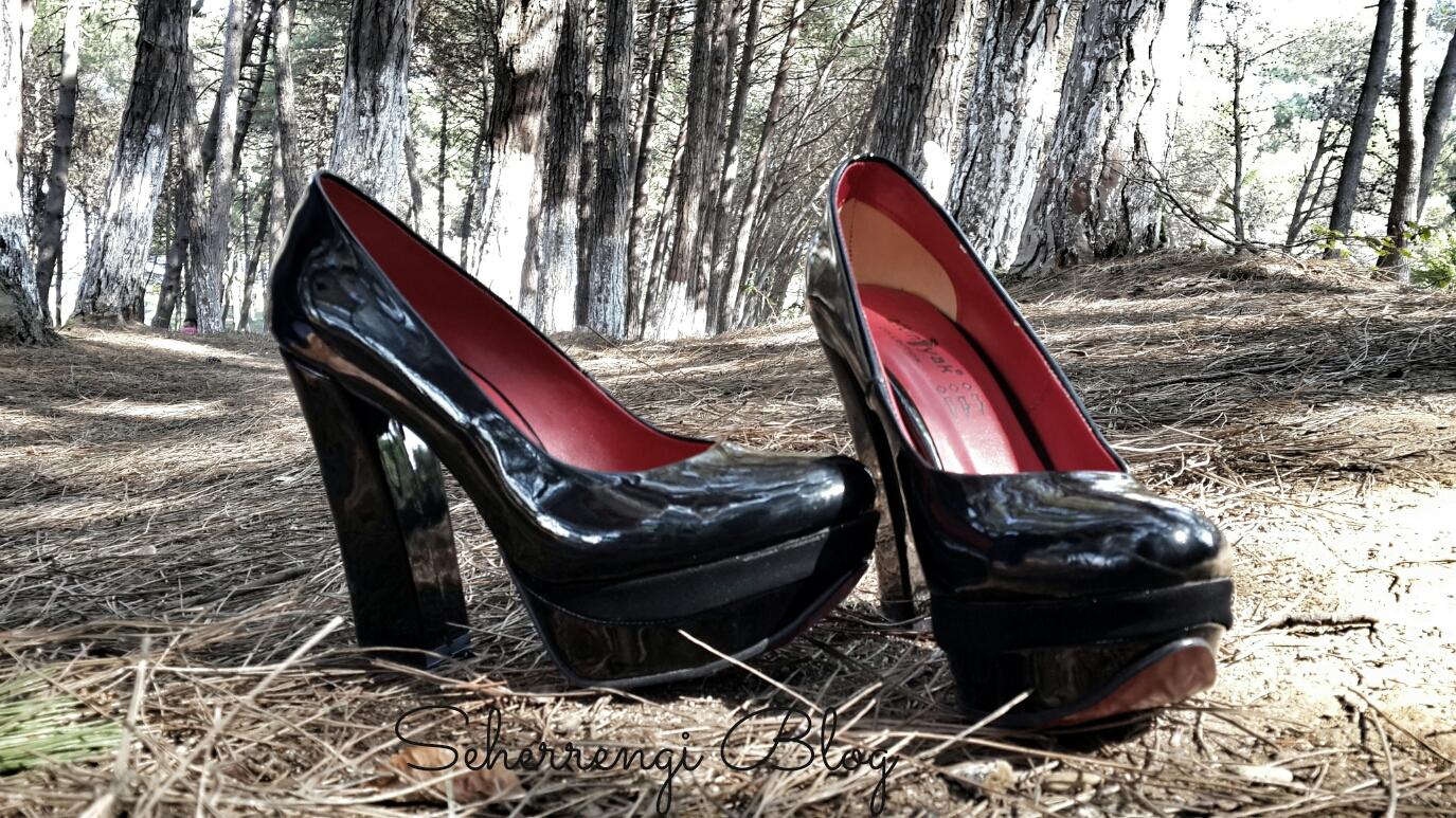 abiye ile platform ayakkabı mı giyilir?