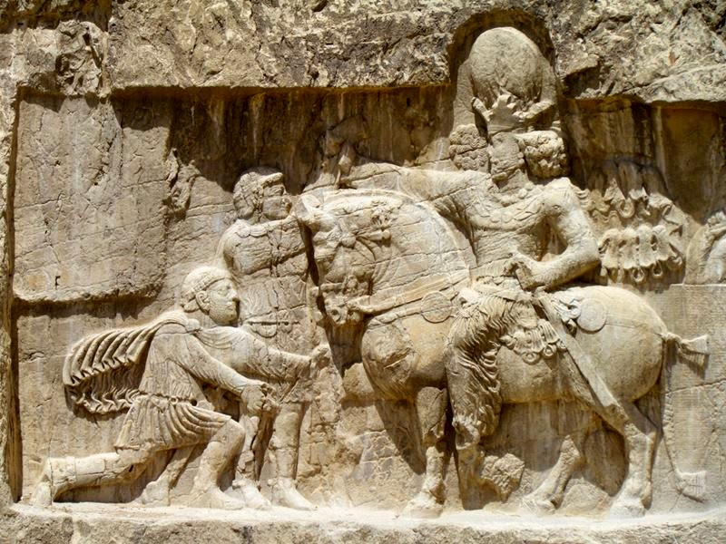 The Triumph of Shapur II, Naqsh-e Rostam