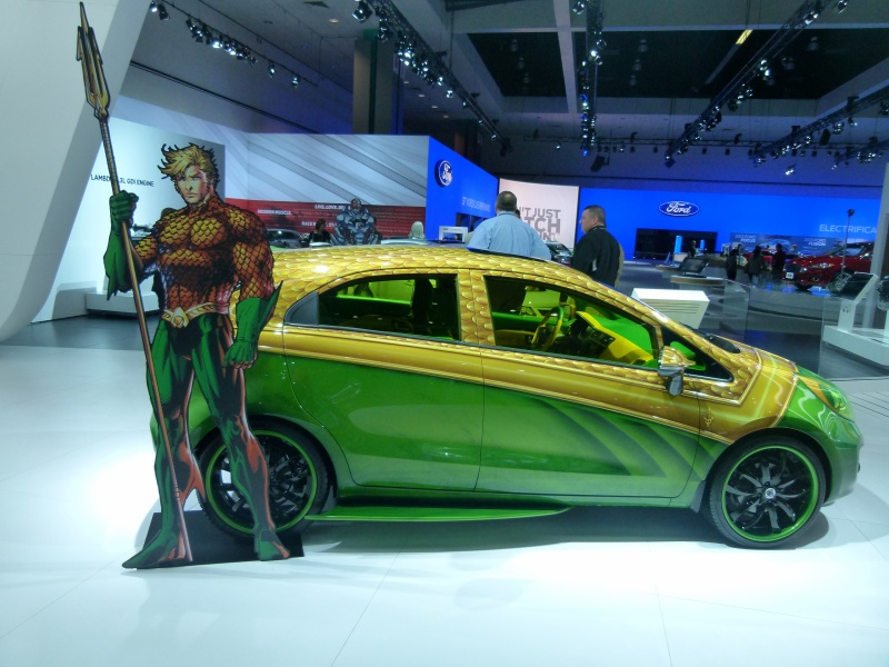 Things To Do In Los Angeles LA Auto Show Aquaman Car - When is the la car show
