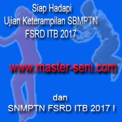 Siap Hadapi SNMPTN/SBMPTN FSRD ITB 2016