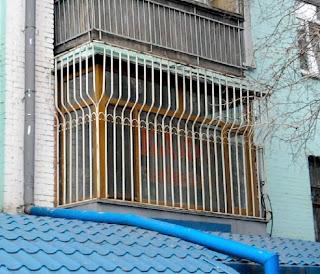 самый зарешеченный балкон