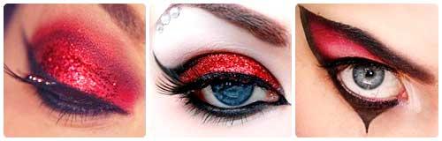 maquillaje ojos fantasia diablesa disfraz