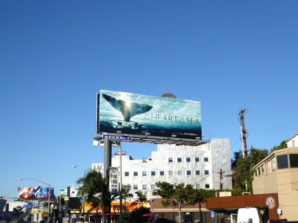 In the Heart of the Sea billboard