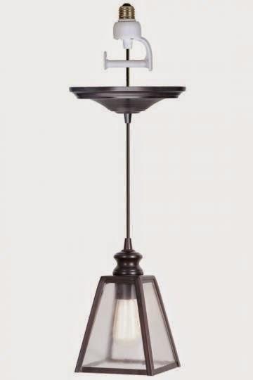 lanterne pendant conversion kit