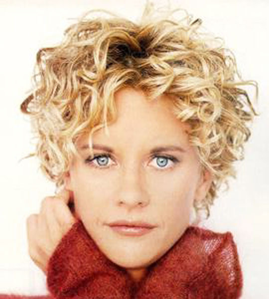Short Hairstyles For Curly Hair: