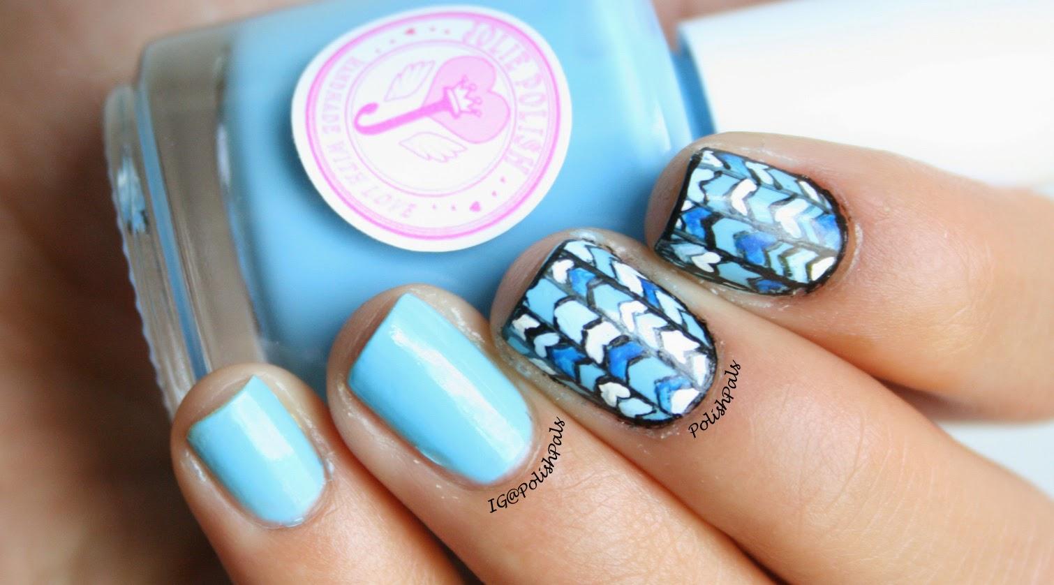 Polish Pals: Blue Crelly by Jolie Polish