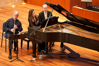 Simone Dinnerstein and Richard Stoltzman, March 2011