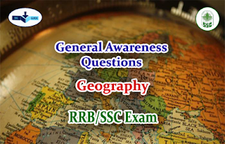 Geography - GK Quiz for SSC/FCI Exams