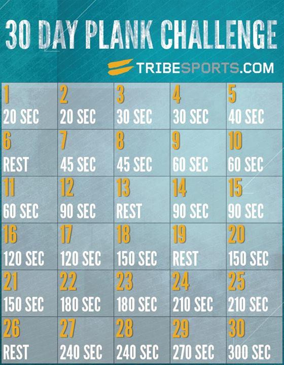ShowMe Nan: 30 Day Plank Challenge