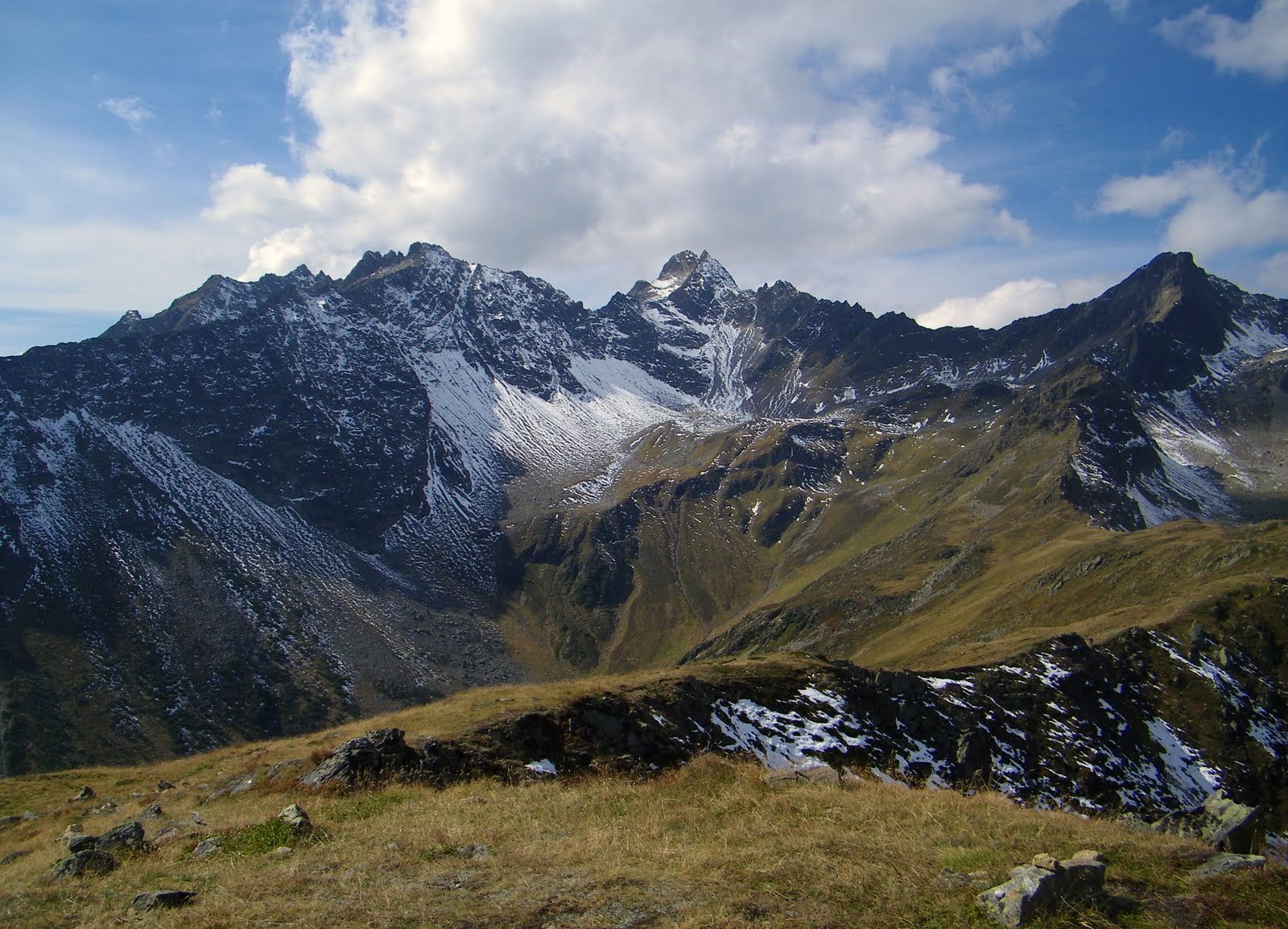 Alpy, jesień, blog góry