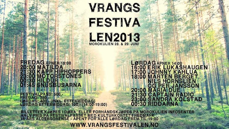 Vrangsfestivalen 2013