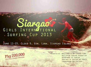 poster of Siargao Surfing Cup  2013