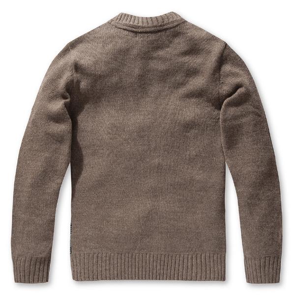 Glen Plaid Knit Sweater