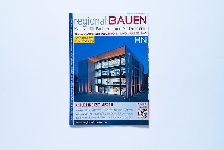Regional Bauen 8/15 Titel Rathaus Leingarten