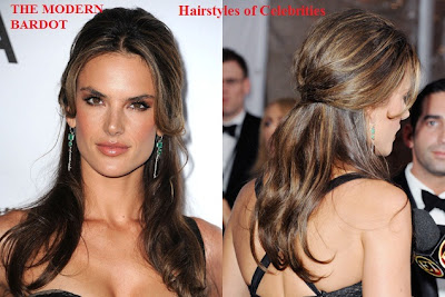 romantic-hairstyles-alessandra-ambrosio-best celebrity hairstyles