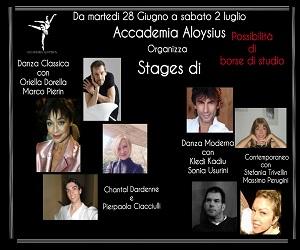 Stages di danza Aloysius