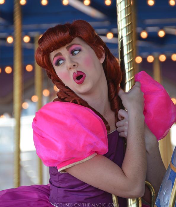 Anastasia Wicked Stepsisters Prince Charming Regal Carousel Magic Kingdom in Walt Disney World Resort