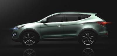 Novo Hyundai Santa Fe 2013