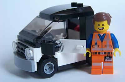 LEGO Movie Emmet car