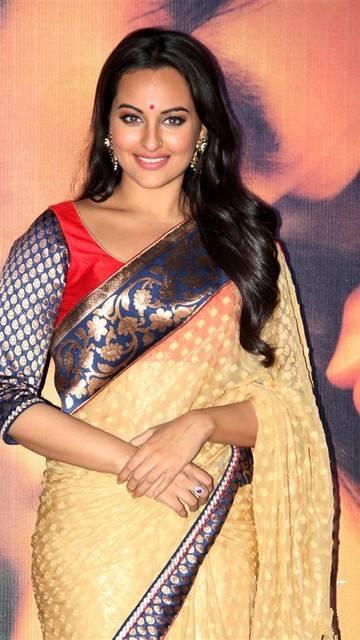 Sonakshi Sinha in Saree LatestPhotos
