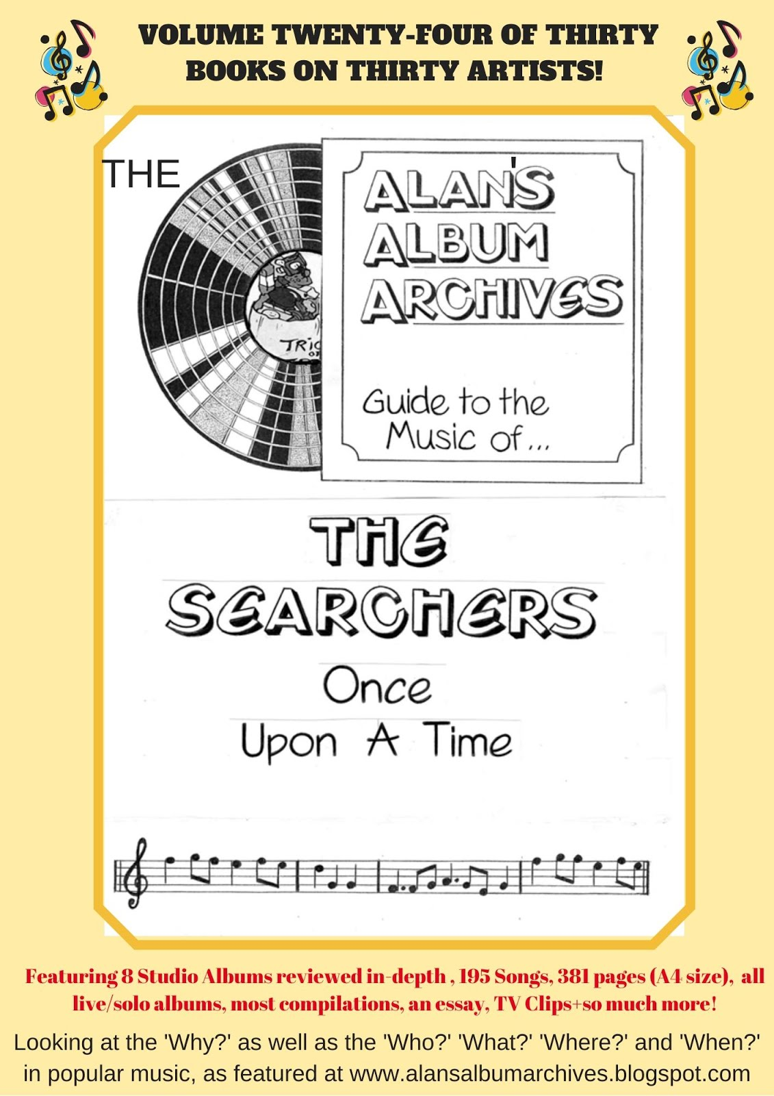 'Once Upon A Time - The Alan's Album Archives Guide To The Music Of...The Searchers'