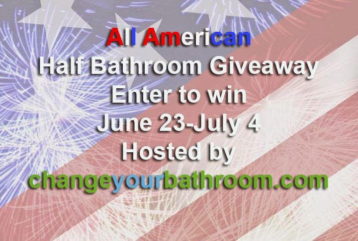 http://www.changeyourbathroom.com/all-american-half-bathroom-giveaway/