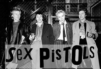 Sex pistols rock band