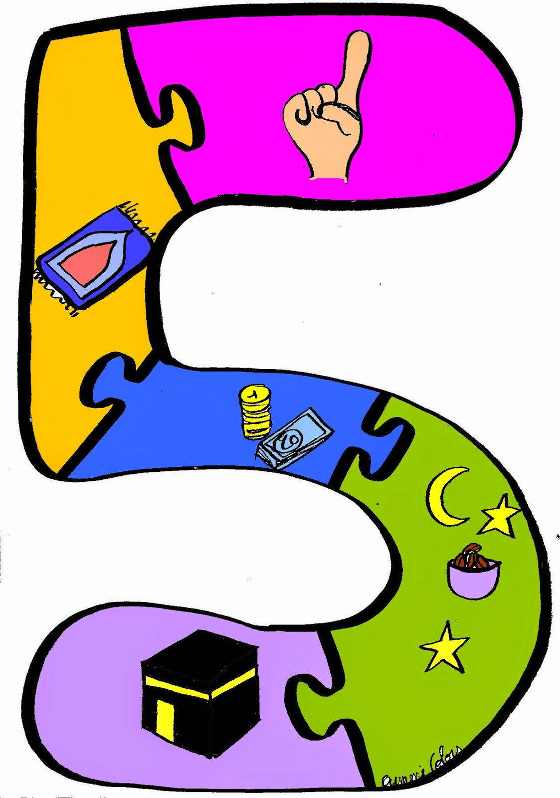 Islam Para Niños: El Islam tiene 5 Pilares