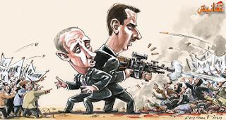 مخاوف امريكية من تصعيد عسكري روسي في سوريا دعما لبشار الاسد