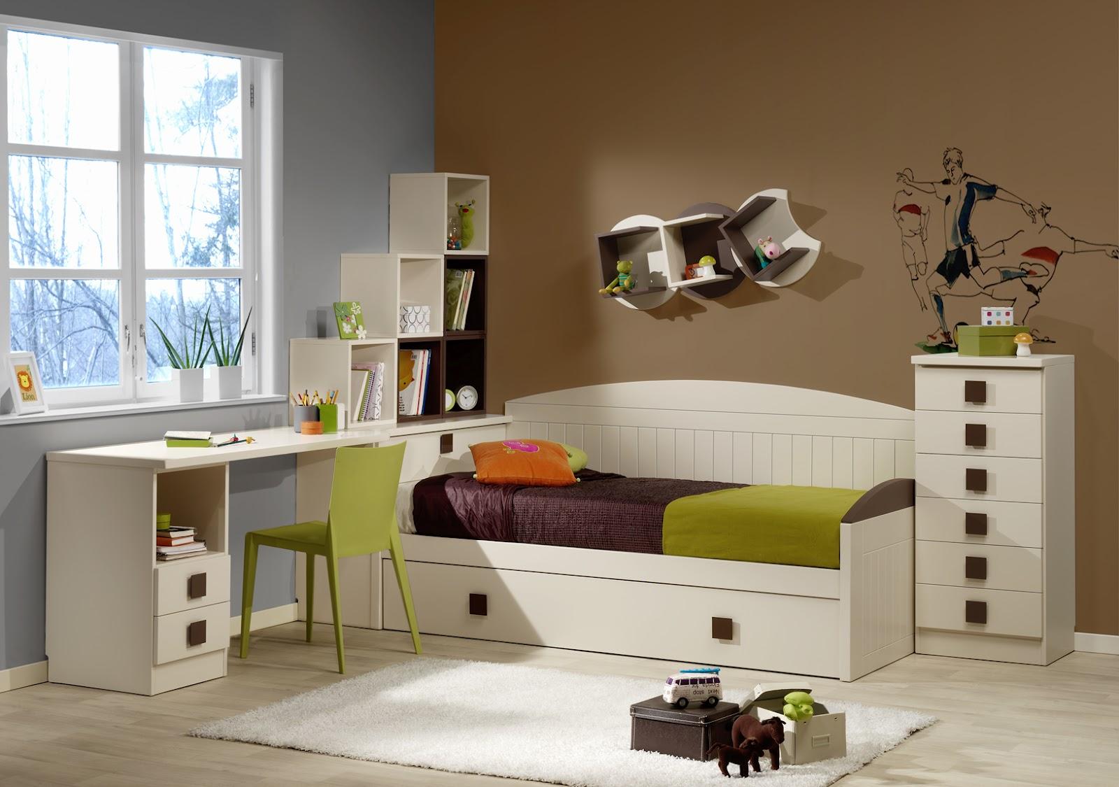 Dormitorios habitaciones juveniles e infantiles lacadas for Cama nido dormitorio juvenil