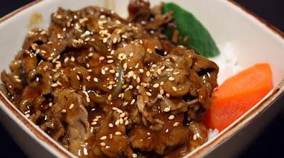 Resep Masakan Daging Teriyaki Ala Hoka Hoka bento, Maknyuss