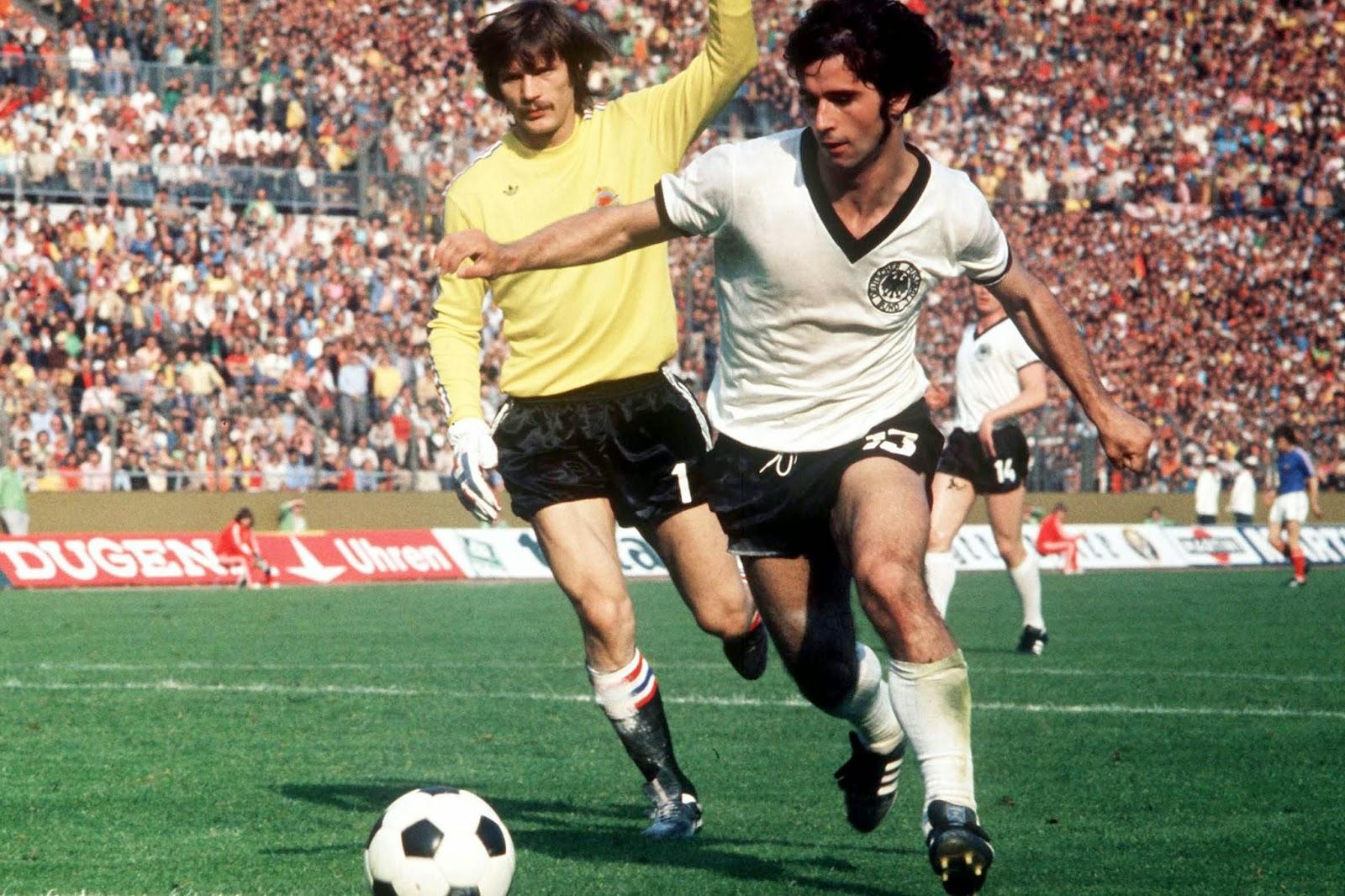 World Cup Heroes Gerd Muller