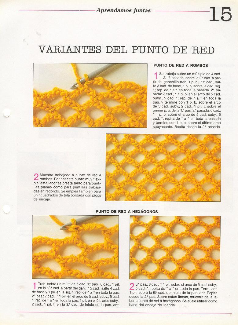 patrones asgaya: PUNTO DE RED A CROCHET