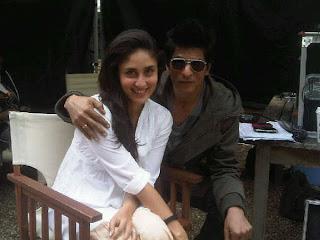 Shah Rukh Khan SK and Kareena