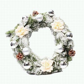 Christmas or advent wreaths 1 - Coronas de navidad ...