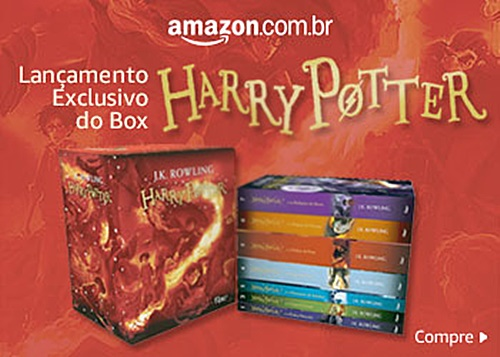 Pré-Venda Harry Potter Amazon