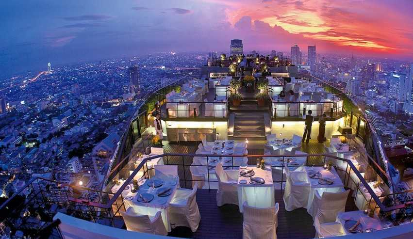 SKYE, Tempat Nongkrong Favorit di Ketinggian Jakarta