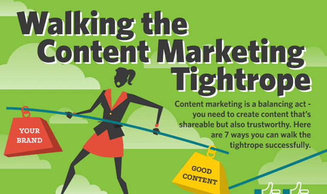 Walking the Content Marketing Tightrope