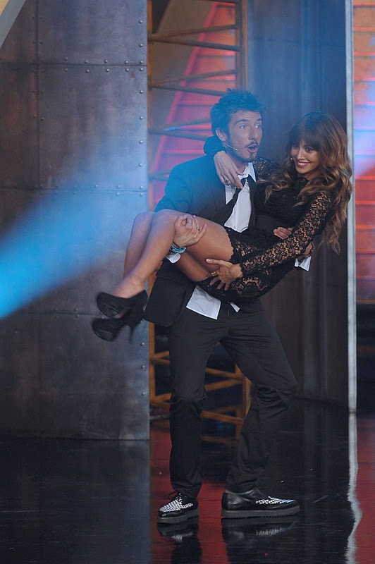 "Belen Rodriguez on ""Colorado"" TV Show"