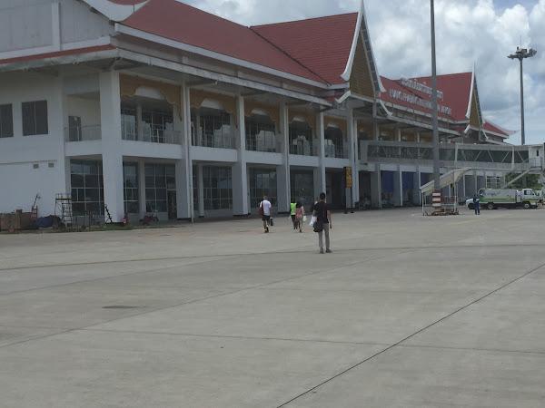 新設された空港ビル