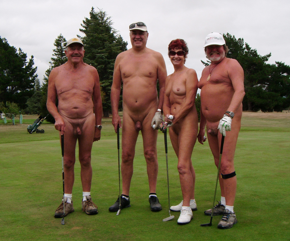 Share your Nude girl golf course excellent