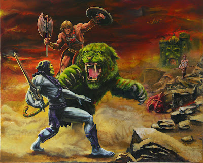 original He-Man Masters Of the Universe Artwork