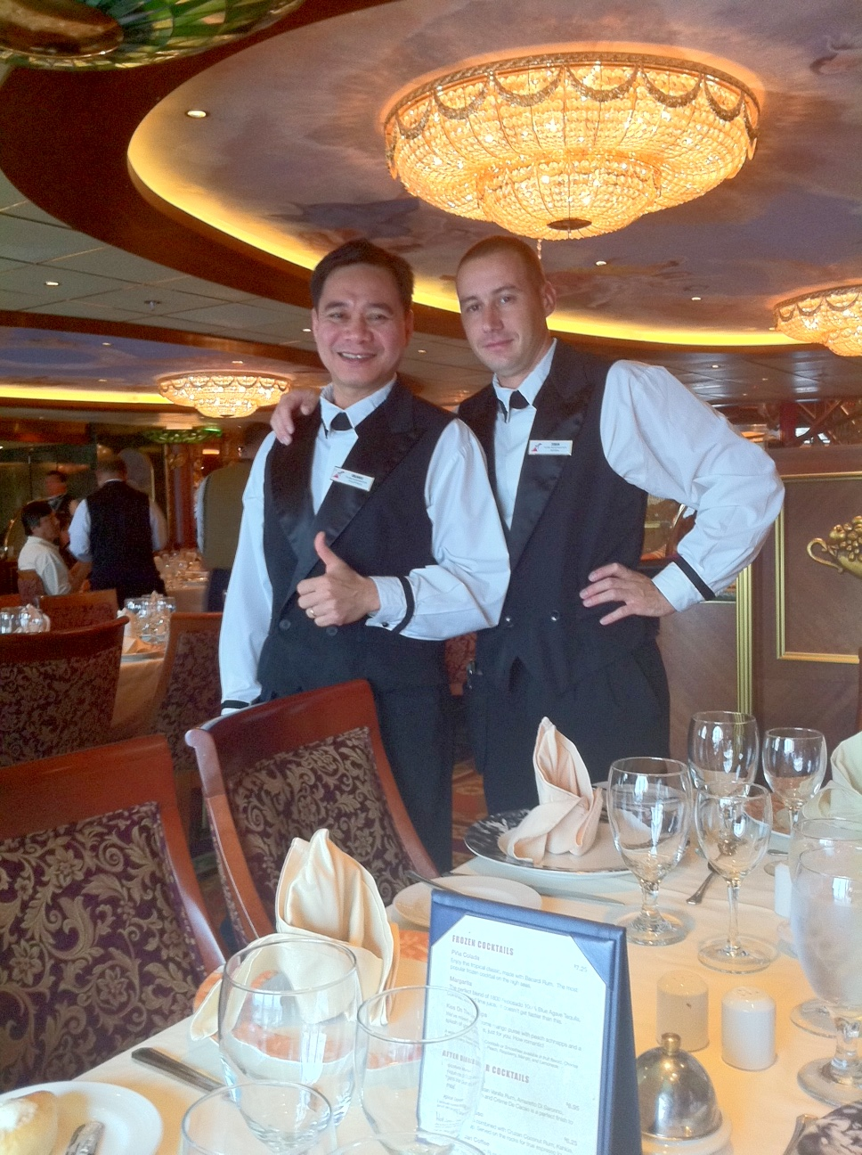 The Food In Empire Dining Room Was Always Good And Servings Way Too Big Or At Least They Seemed After Eating On Lido Deck Snacking