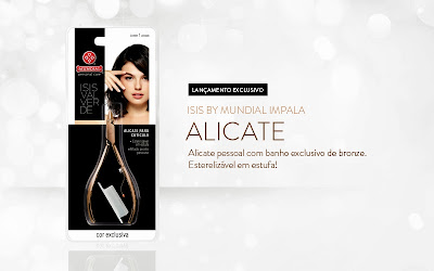 Coleção Impala Esmaltes e Fragrâncias Isis Valverde