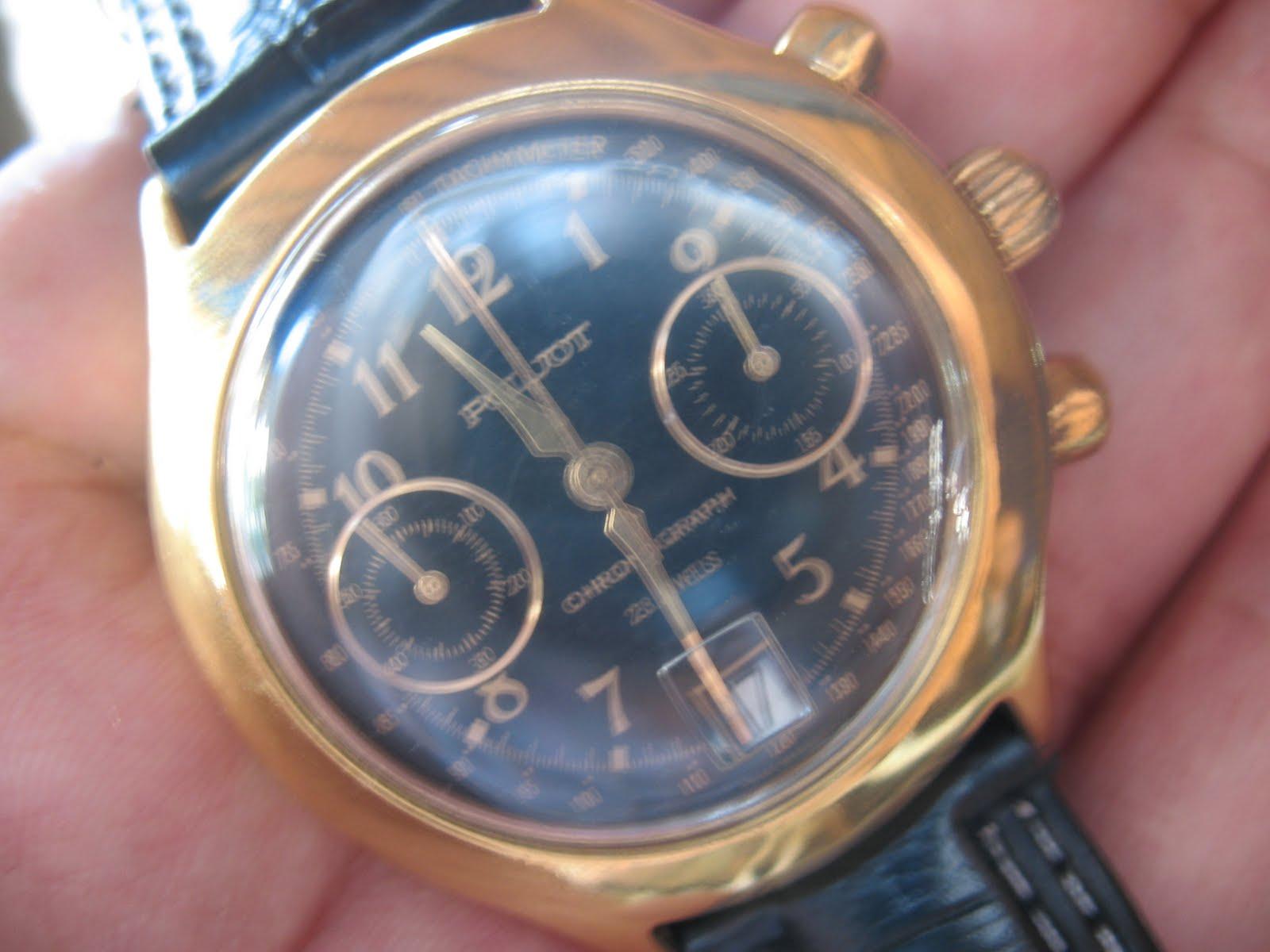toko-jam.com on toko jam tangan antik: poljot chronograph (sold)