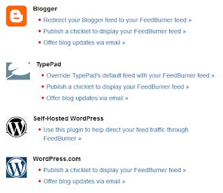 Panduan untuk integrasi ke blog