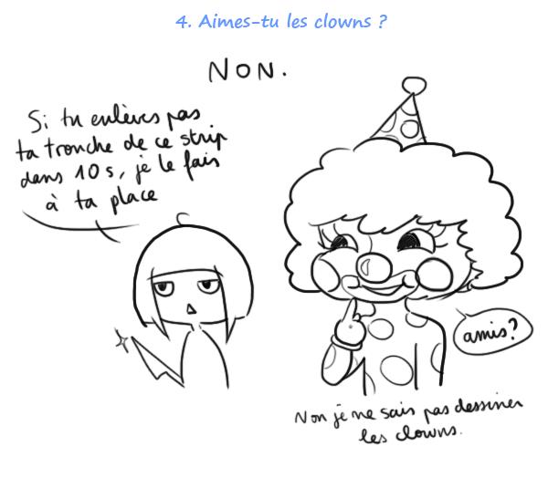 j'aime pas les clowns